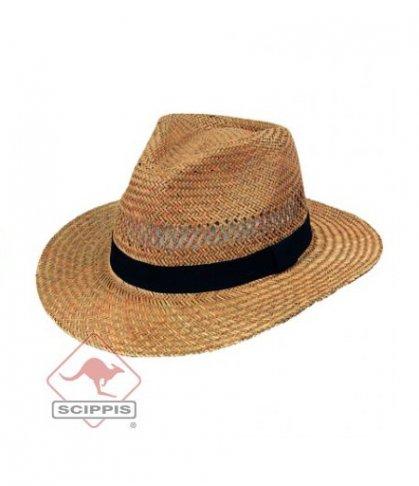 039cbe0a2 Slamený klobúk Barrow | Westernový obchod - West shop