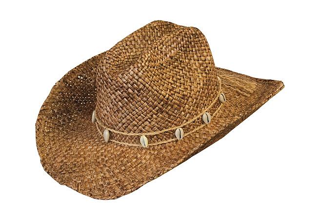 495171767 Slamený klobúk Drover | Westernový obchod - West shop